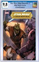 Star Wars High Republic #2 CGC 9.8 2021. Phil Noto Cover PRE-ORDER 02/03/2021