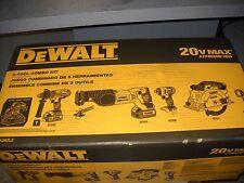 DeWALT DCK592L2 20V MAX Cordless Lithium-Ion Premium 5-Tool Combo Kit Li-Ion NEW