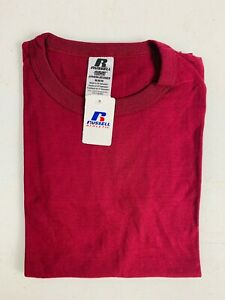 Russell Athletic Youth Blank T-Shirt 94030BK NWT Maroon S, M, L, XL T2