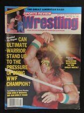 Sports Review Wrestling November 1990 Sting Ultimate Warrior Dusty Rhodes Muta