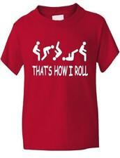 T-shirt rouge pour fille de 2 à 3 ans