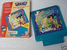 SEGA Pico Smart Alice and Smart Alex Pico Video Game System