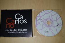 Carlos Cano - Diván del tamarit. 011154 CD-Single promo