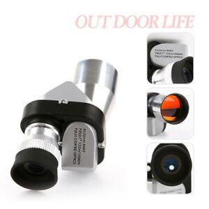 8X20 Mini Compact Monocular Telescopes Focus Adjustable Pocket Outdoor Blu3CHF