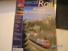 """** Objectif rail n°40 Prima de toutes les couleurs / Les """" Trains sandwich """""""
