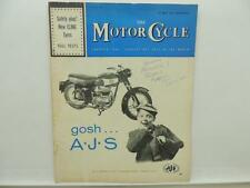 May 1962 THE MOTORCYCLE Magazine AJS BSA Motocross Francis-Barnett L8129