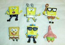 Lot of 2003 Spongebob Figures Viacom