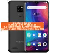 """ULEFONE NOTE 7P 3gb 32gb Quad-Core 8.0mp Face Unlock 6.1"""" Android Lte Smartphone"""