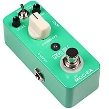 Mooer Green Mile Overdrive Micro Guitar Effects Pedal