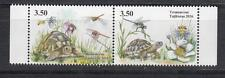 Insect Tajikistan 2016 MNH** Mi.747-748 ZdA Turtles Libelle Dragon Fly
