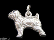 Old English pecore dog Charm Argento 925 charmmakers 3D