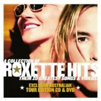 Roxette A Collection of Roxette Hits CD & DVD Region 0 PAL NEW