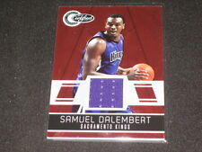 Samuel Dalembert Certified Authentic Game Used Jersey Basketball Card #96/249
