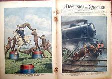57) 1931 INCIDENTE TRENO TRA CASALE E MORTARA. USSARI INGLESI DOMENICA DEL CORR.