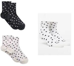 Calvin Klein Women's Socks Toss Triangle Socks One Size