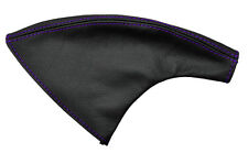PURPLE STITCH FITS NISSAN 200SX SILVIA S14 1993-1998 HANDBRAKE GAITER LEATHER