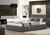 3FT 4FT 4FT6 5FT Ottoman Storage Gas Lift Beds Fabric Or Leather Mattress Option