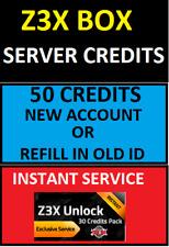 Z3X BOX SERVER 50 CREDITS INSTANT SERVICE HONEST SELLER