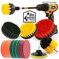 15 Pcs Drill Brush Set Sponge Power Scrubber Polishing Kit