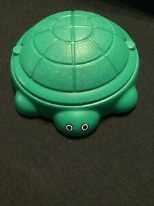 Vintage Little Tikes Dollhouse Green Turtle Sand Box