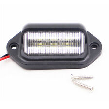 1Pc 12V 6 LED Number License Plate Tag Interior Step Light RV Boat Trailer Truck