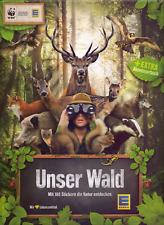 EDEKA + Marktkauf - Unser Wald 100 verschiedene Sticker viele Tiere Pflanzen