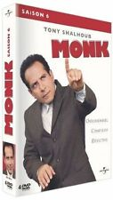"DVD ""Monje - Temporada 6"" 4 DVD NUEVO EN BLÍSTER"