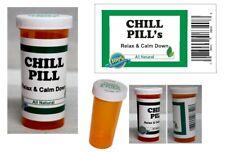 Chill Pill gag gift, Funny Chill Pills Prescription Bottle, great gag gift