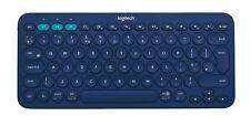 Teclado Ingles UK Logitech K380 Multi Device Bluetooth Keyboard BLUE UK BT INTNL
