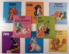 Probst 8 Mini livres des animaux de Caroline Hachette Comme neuf