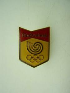 Pin back badge Budweiser Beer - Olympic Games                               1916