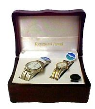 Watch Set His Hers Reymand Jewel Stainless Steel Quartz Water Resistant New