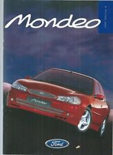 FORD MONDEO - DETAILED 1997 PUBLICITY BOOK