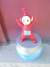(S19E-061) EUROPEAN SOAKY - GREAT CONDITION -  RED TELLYTUBBIES rotating base