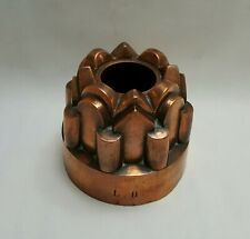 More details for antique copper jelly / jello mould, provenance: formerly of luton hoo estate.