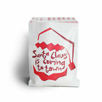Paper Bags Christmas Tree Santa Snowflake Party Bag Gift Sweets Table Gift Xmas