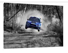 Subaru Impreza WRX Sti - 30x20 Inch Canvas Framed Picture Print
