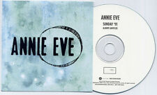 ANNIE EVE Sunday '91 Sampler 2014 UK numbered 4-track promo only CD