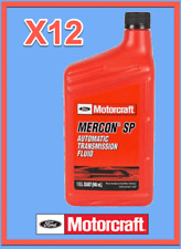 12 Quarts OEM FORD Automatic Transmission Fluid ATF MOTORCRAFT XT6QSP MERCON SP