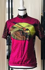 Primal Wear  Ladies Bicycle Jersey Shirt With Dragonfly Dragonfly Flying Large