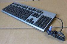 Teclado Compaq KB-0133 Negro Plata PS2 con cable QWERTY 271122-B31