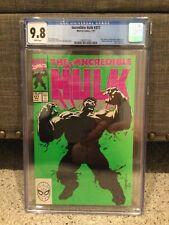 Incredible Hulk #377 - Marvel Comics 1st Print - CGC 9.8 WHITE Pages