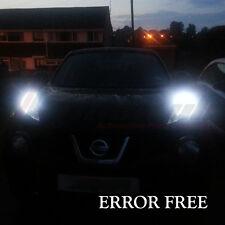 * détails sur Nissan Juke/Qashqai Xenon Glace Blanc DEL SideLight Ampoules Erreur