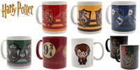 Official HARRY POTTER Mugs Cup Gryffindor Hufflepuff Ravenclaw Slytherin Mug