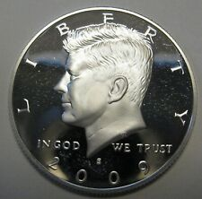 2002 S Proof John Kennedy Half Dollar With DIY Slab DCam Clad Combined Shipping