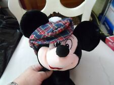 "Disney Mickey Mouse wearing plaid golf hat Golf Club Cover 12"" Euc"