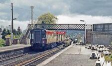 PHOTO  IRISH RAILWAY - CIE LOCO NO  124 LAMBEG 1974