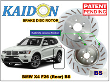 "BMW X4 F26 disc rotor KAIDON (Rear) type ""BS"" / ""RS"" spec"