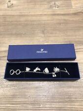 Genuine Swarovski Charm Bracelet with Box
