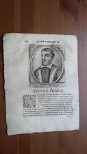 1664 Calvi Scrittori Bergamaschi: Pietro Bongo di Bergamo (Numerologia)